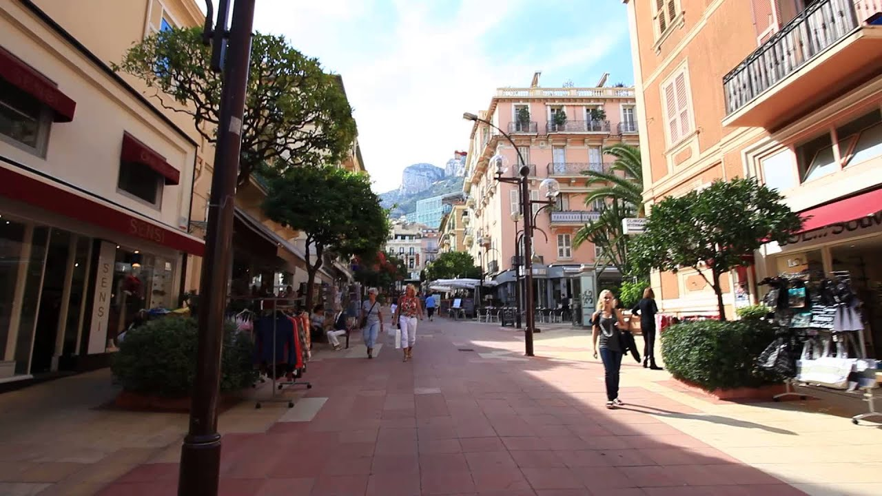 Walking the streets of Monaco in the south of France - YouTube