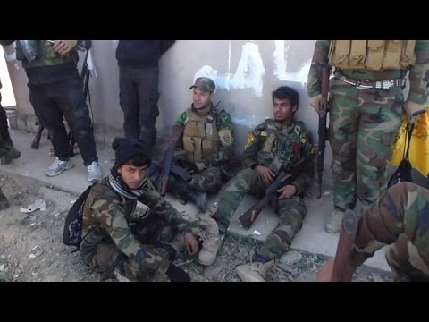 Les troupes irakiennes sont entrées dans Tikrit
