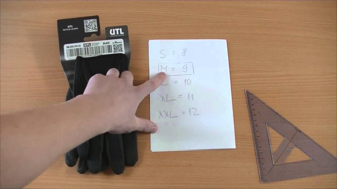 b6ead7d6a Ako vybrať veľkosť rukavíc - Návod - YouTube