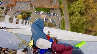 Смотреть видео альпинистское снаряжение для промышленного альпинизма