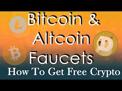 How To Earn Free Crypto With Faucets!