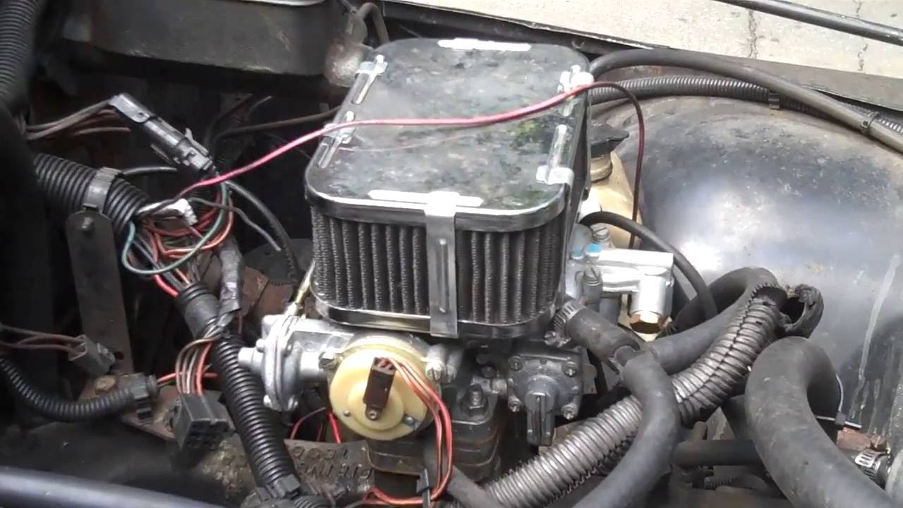 Amc 258 Distributor Wiring Diagram Nutter Ignition Bypass Jeep Cj7 Youtube