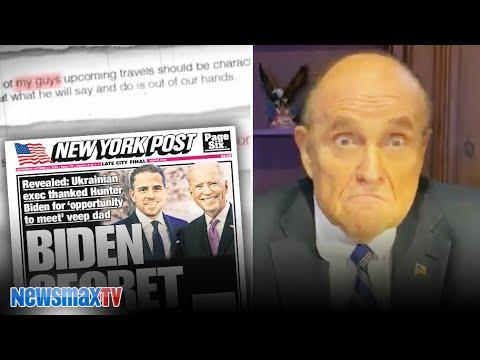 BOMBSHELL: Giuliani blows the cover off the Hunter Biden 'conspiracy'