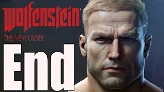 Wolfenstein The New Order Final Boss and Ending