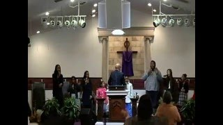 "Heart of God Ministries Youth Choir singing ""I Have A Father""  & ""Jesus is Mine"""