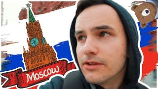 Walking on the Red Square Moscow Russia || wcklx Travel Vlog