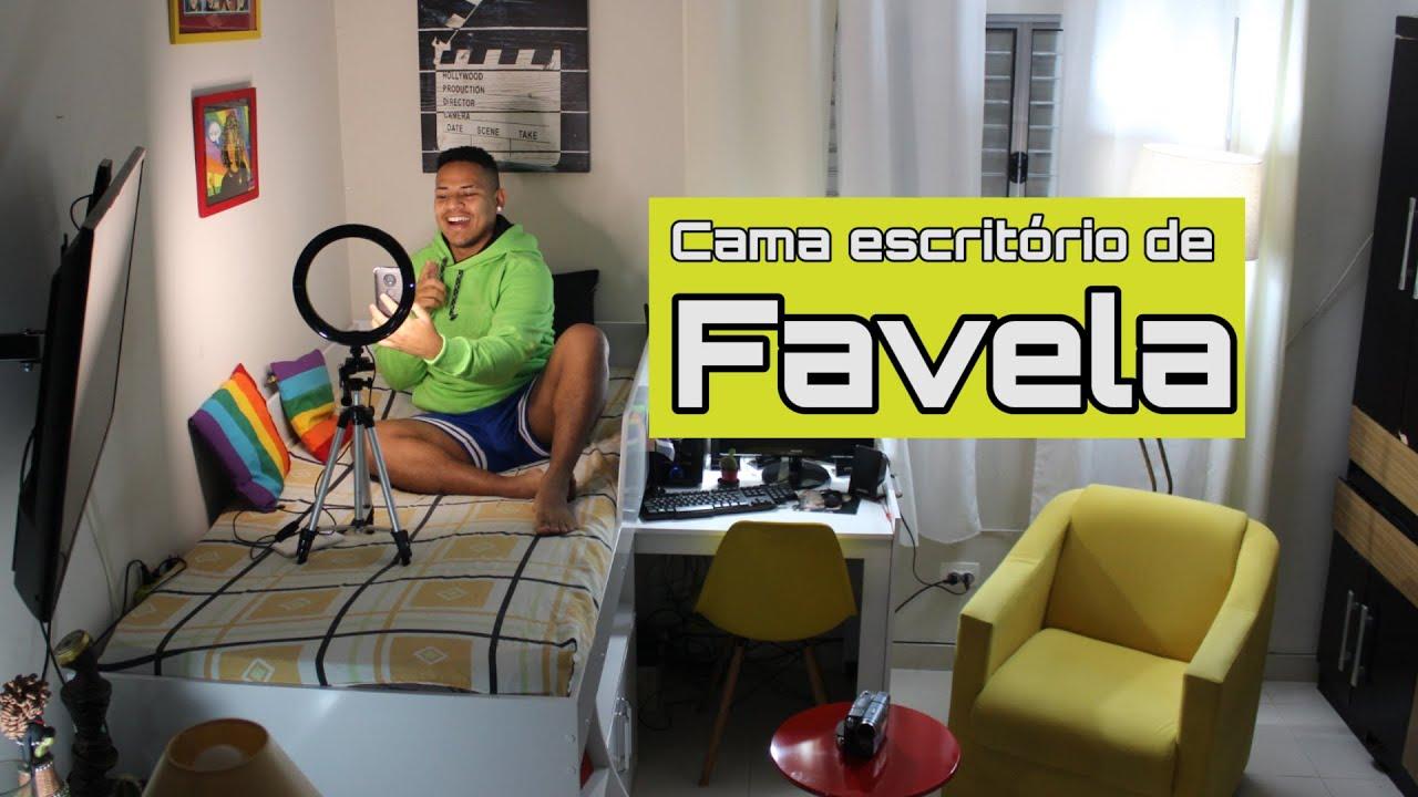 Cama Escritório de favela - Rompendo Narrativas