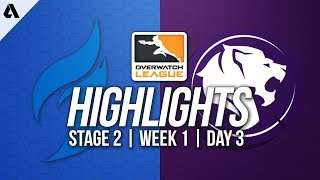 Dallas Fuel vs Los Angeles Gladiators | Overwatch League Highlights OWL Stage 2 Week 1 Day 3
