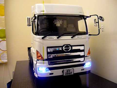 Rc Tractor Truck Control Unit Test Tamiya Mfc 01
