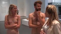 Naakt poseren in het museum met Lauren Verster   Lauren!