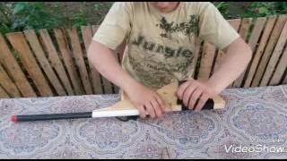 Как сделать оружие из дерева