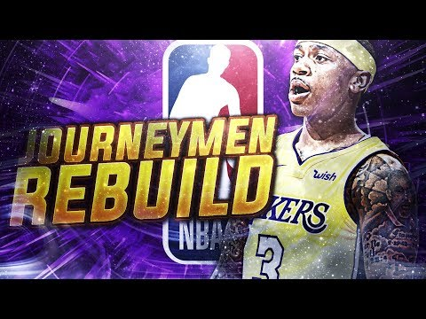 5 TEAMS! JOURNEY MEN CHALLENGE! NBA 2K18