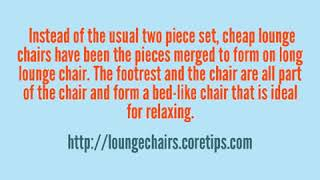 Cheap Lounge Chairs
