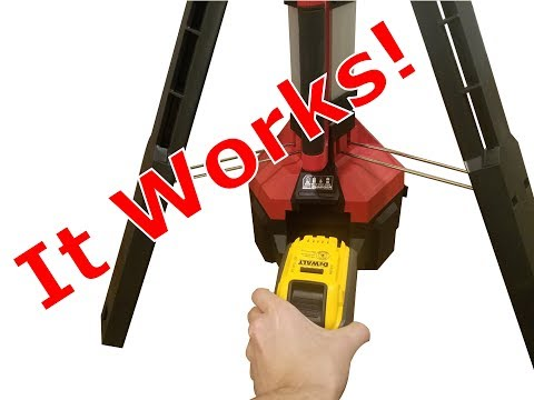 My Milwaukee M18 tool works with a Dewalt 20V battery!