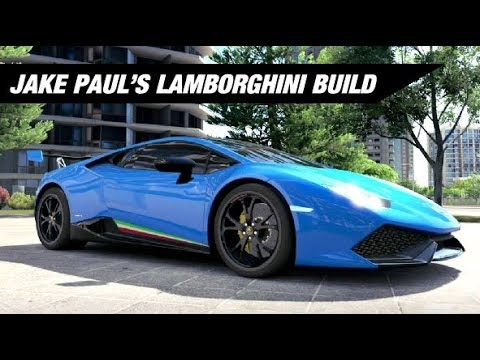 Jake Paul S Lamborghini Huracan Build Forza Horizon 3 Youtube