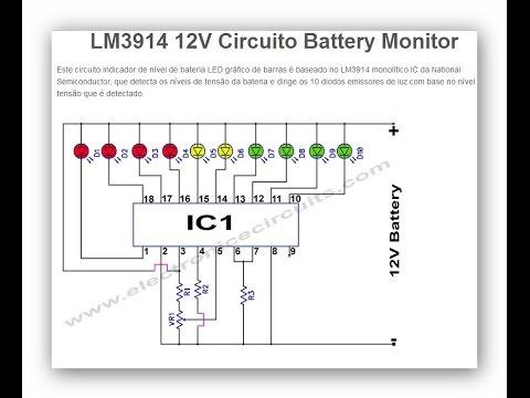 Monitor De Bateria 1 2 Youtube