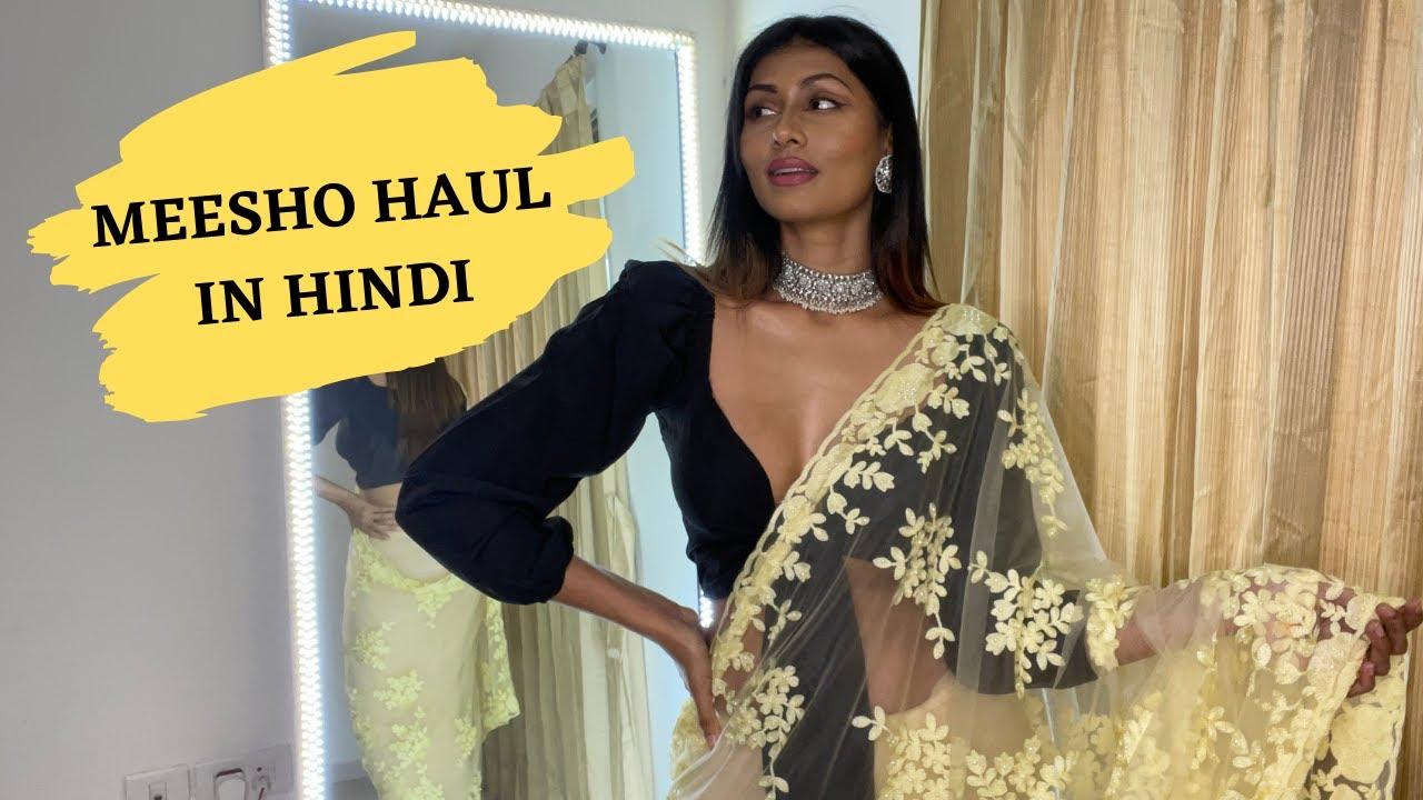 MEESHO HAUL IN HINDI | TRY ON HAUL| Bosslady Shruti