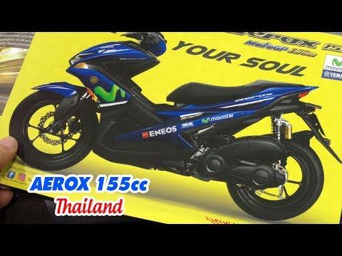 Ngẩn ngơ với màu sắc Yamaha AEROX (NVX 155cc) tại Thái Lan