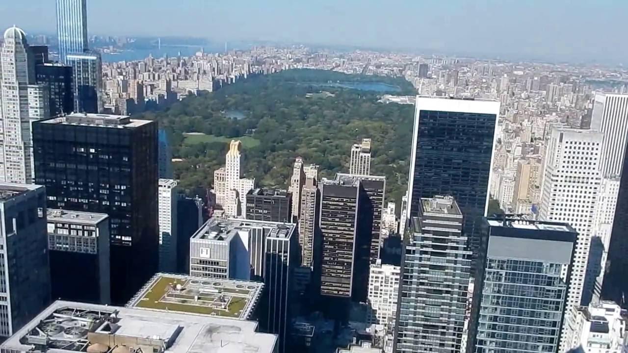 Camera Rockefeller Center : Rockefeller center degree view from the top of the rock youtube