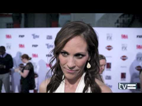 Annabeth Gish Interview - Sons of Anarchy Season 7 - YouTube