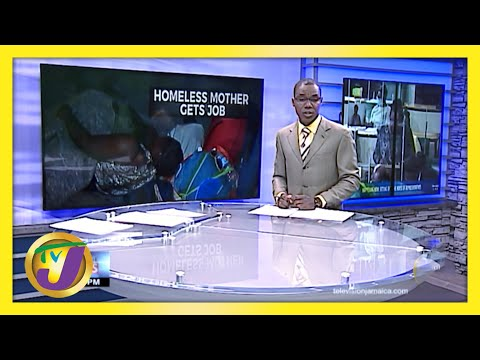 A Homeless Mother in Kingston Jamaica now has a Job   TVJ News
