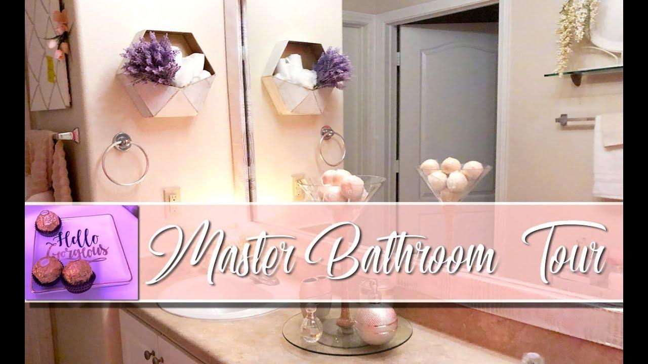 2018 MASTER BATHROOM TOUR