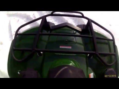 Loncin LX500ST Godzilla in Snow HD 1080p