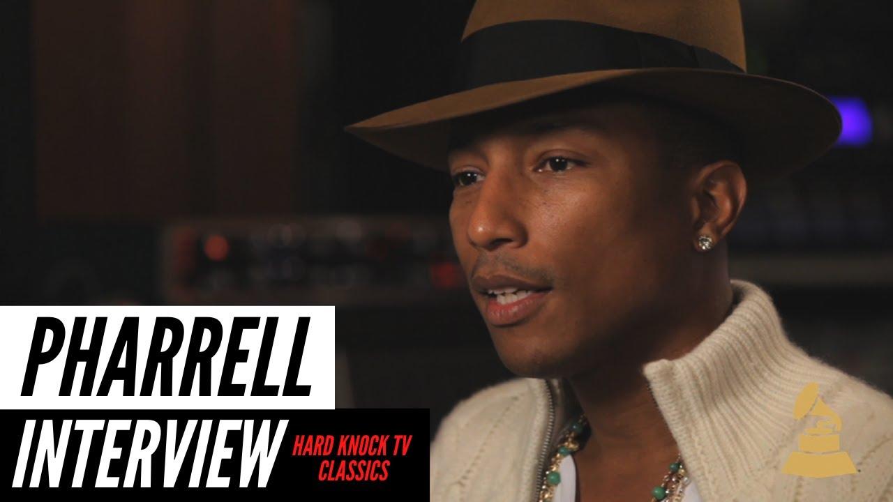 Pharrell Williams Classic Interview | vizo.tv