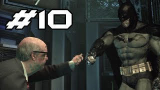 BATMAN Arkham Asylum Gameplay Walkthrough - Part 10 - H-A-C-K (Let