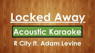 Video Locked Away - R City ft. Adam Levine | Karaoke Lyrics (Acoustic Guitar Karaoke) Instrumental download MP3, 3GP, MP4, WEBM, AVI, FLV Agustus 2017