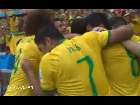 Brasil 2 - 1 Colombia  - Octavos de Final - Resumen del partido - Comentario y analisis