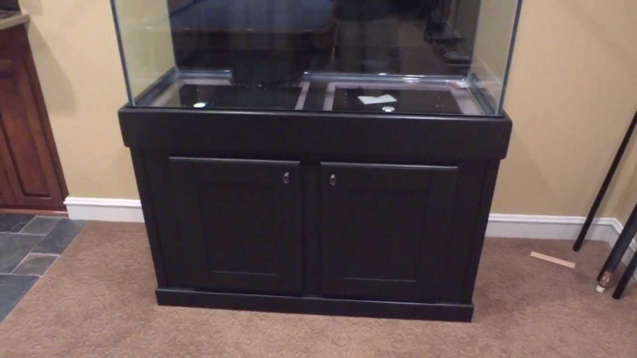 90 gal. Reef Stand Tank Build (part 3)   YouTube