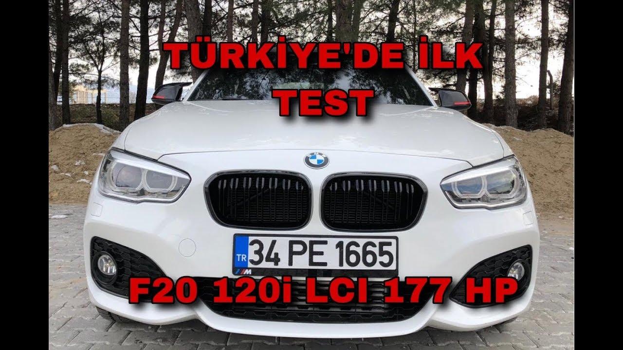 177 Hp'lik Bmw F20 120i Lci Test Ettim (Türkiye'de İlk) //Performans Testi