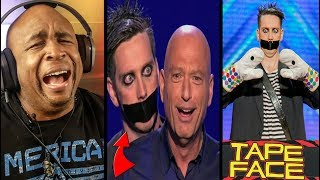Tape Face America's Got Talent REACTION!!