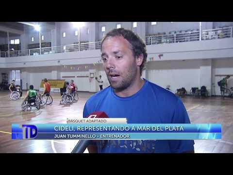 Cideli, representando a Mar del Plata en la Liga Nacional A