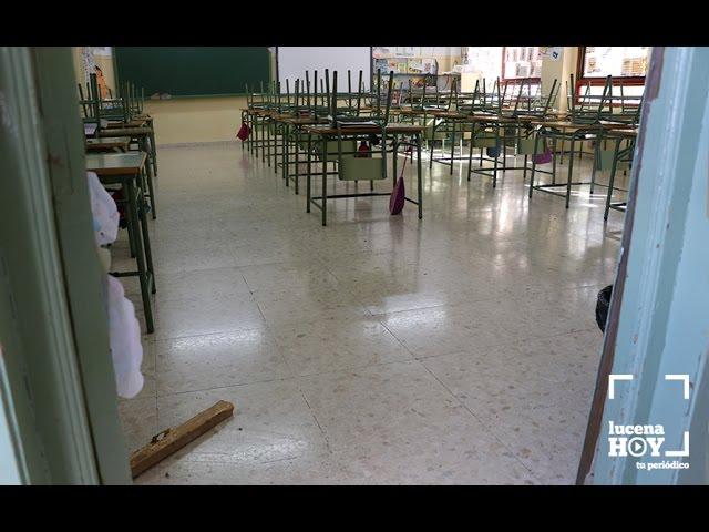 VÍDEO: La comunidad educativa pedirá al ayuntamiento más medidas de vigilancia en los colegios tras producirse dos nuevos robos en El Valle y La Purísima