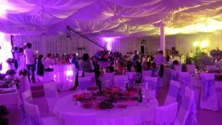 Световое оформление свадьбы Нарека и Галины 22 04 2014 г  ресторан Усадьба