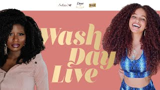 Suave Wash Day Live with Joyjah & Temi