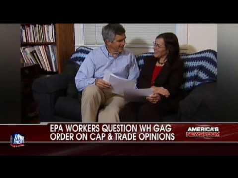 EPA WORKERS QUESTION GAG ORDER ISSUED BY WHITE HOUSE ON CAP AND TRADE