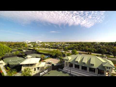 Boca West Country Club Aerial Tour