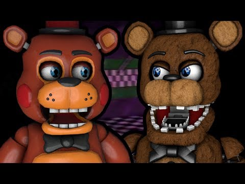 TOY FREDDY PLAYS: One Night at Freddy's 2 (Part 1 of 2) || TRAPPED IN THE PARTS/SERVICE ROOM!!!