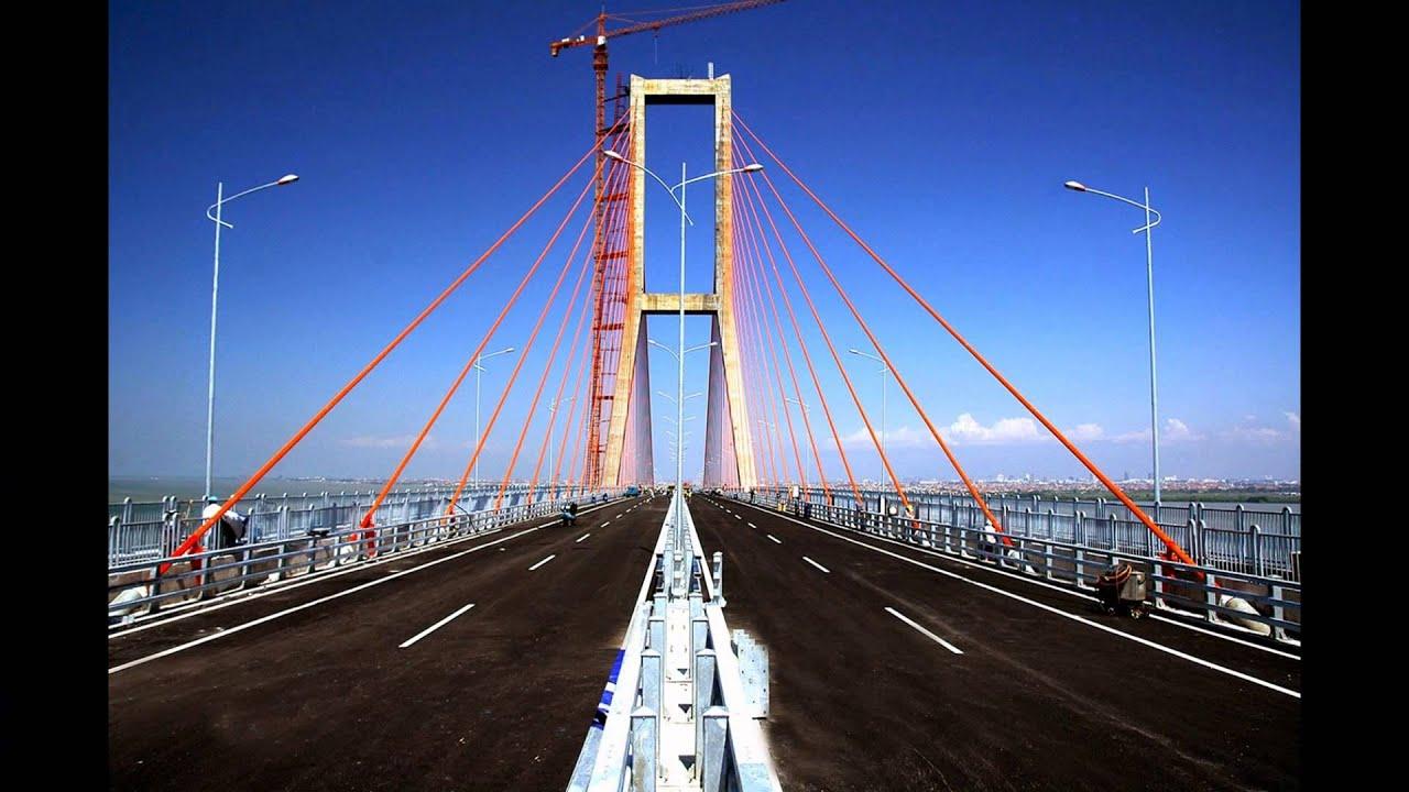 Jembatan Suramadu Jawa Timur Tempat Wisata Di Indonesia Youtube