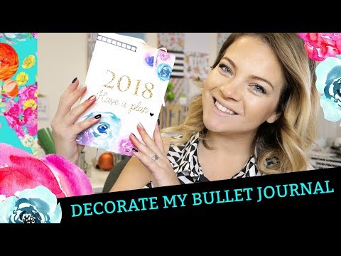 Decorate my BULLET JOURNAL cover with Iron on!