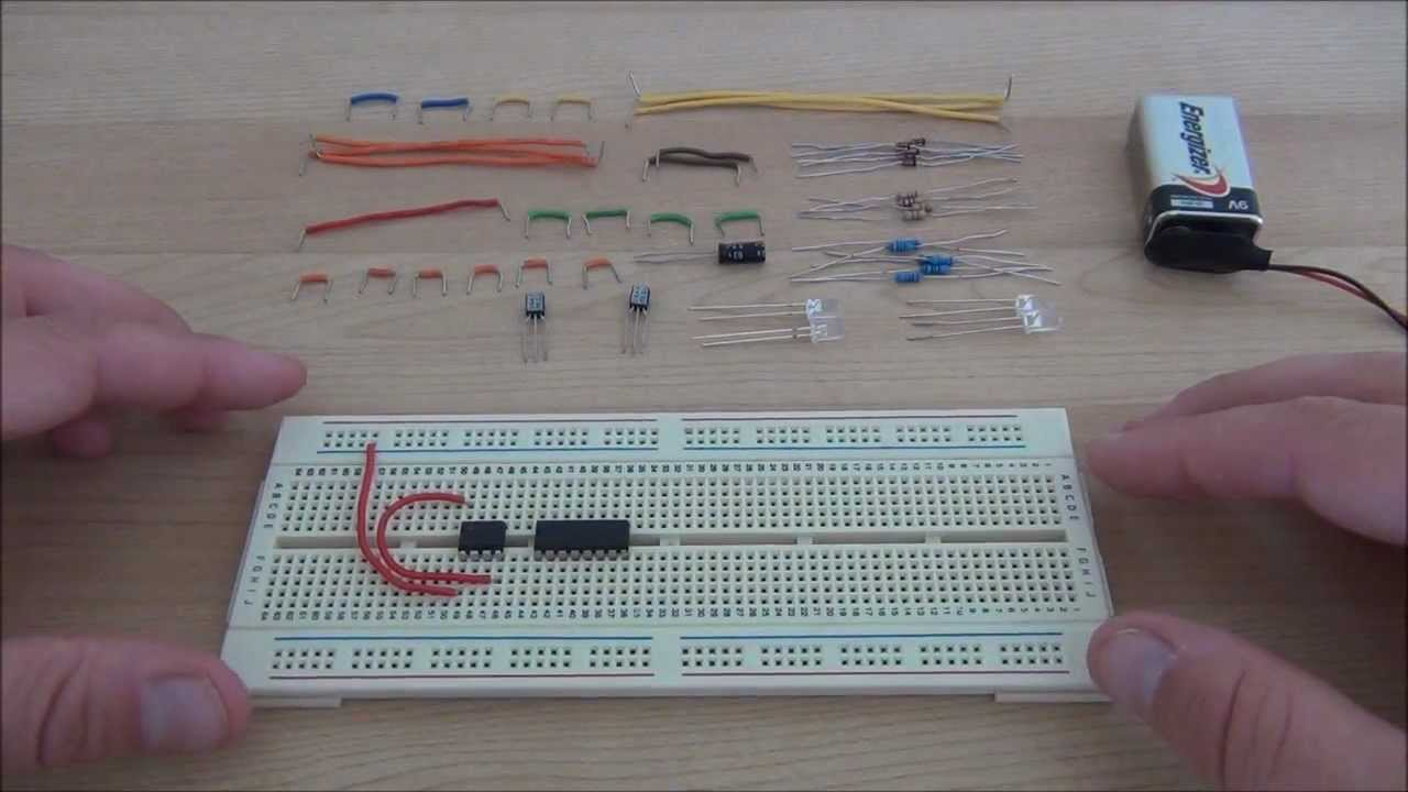 555 Timer Circuits - Police Lights - YouTube