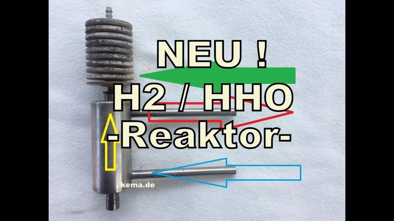 Sehr Wasserstoff Durchlauferhitzer für Wasser oder Öl selber bauen HX67