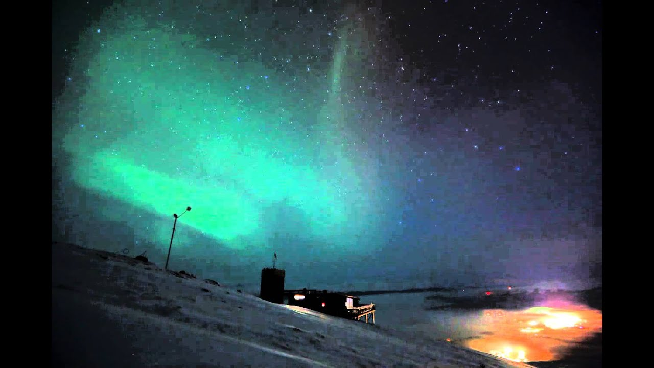 Aurora over aurora sky station youtube publicscrutiny Image collections