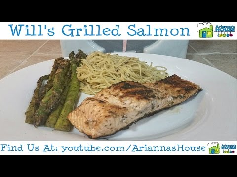 Will's Grilled Salmon