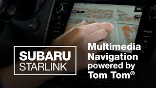 homepage tile video photo for SUBARU STARLINK TomTom Navigation Features (2020 Updated)