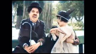 His Trysting Place (1914) - CHARLIE CHAPLIN & MABEL NORMAND - Mack Sennett - color
