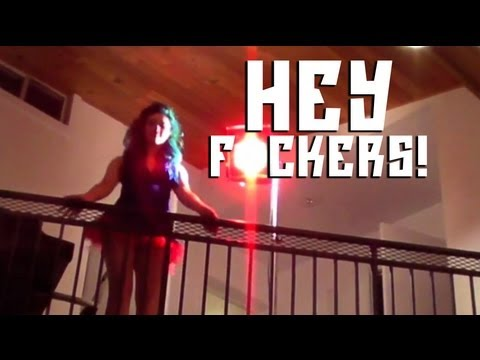 Girl Gets HIT by Ceiling Fan in the Face!!! - SUMO CYCO